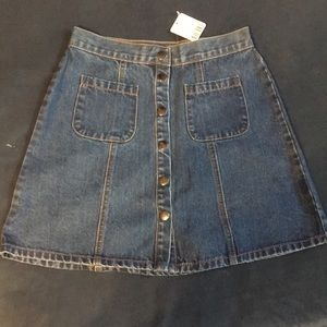 Urban outfitters denim skirt - NEVER WORN